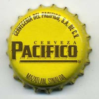 Cerveza Pacifio bottle cap
