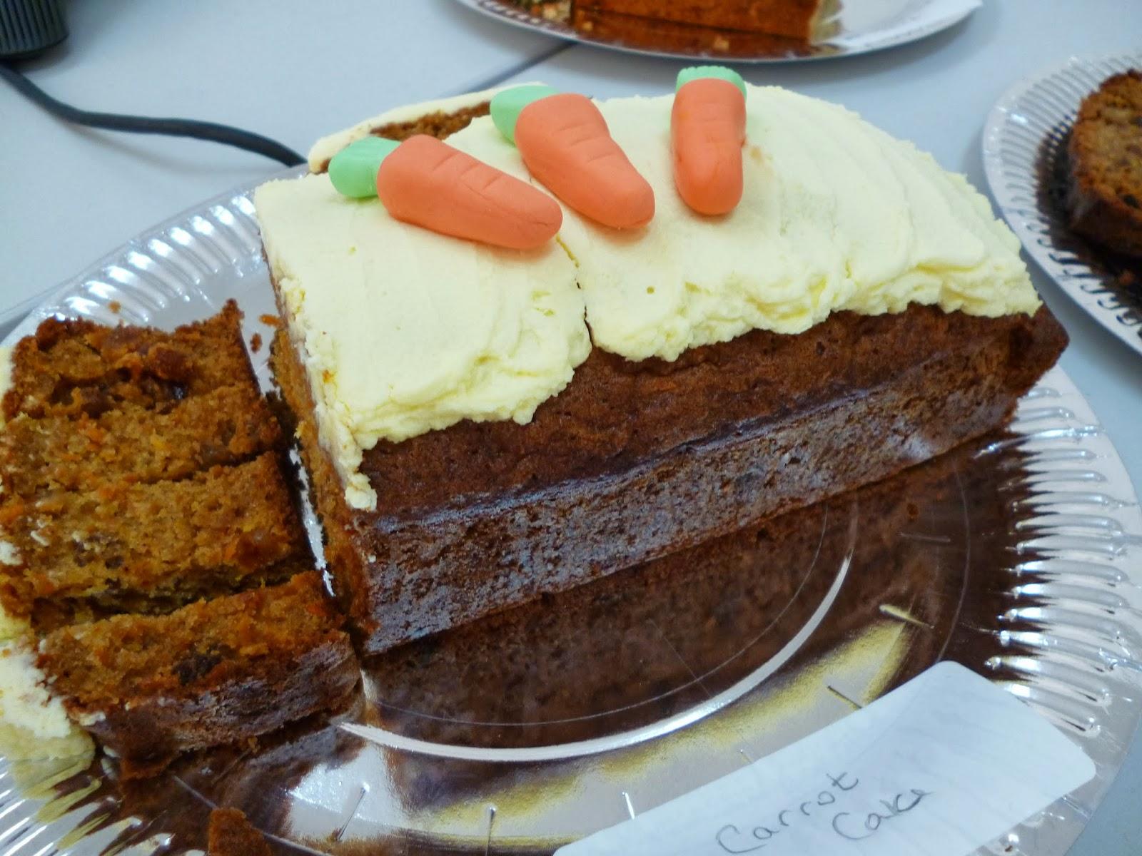 Decorate Carrot Cake