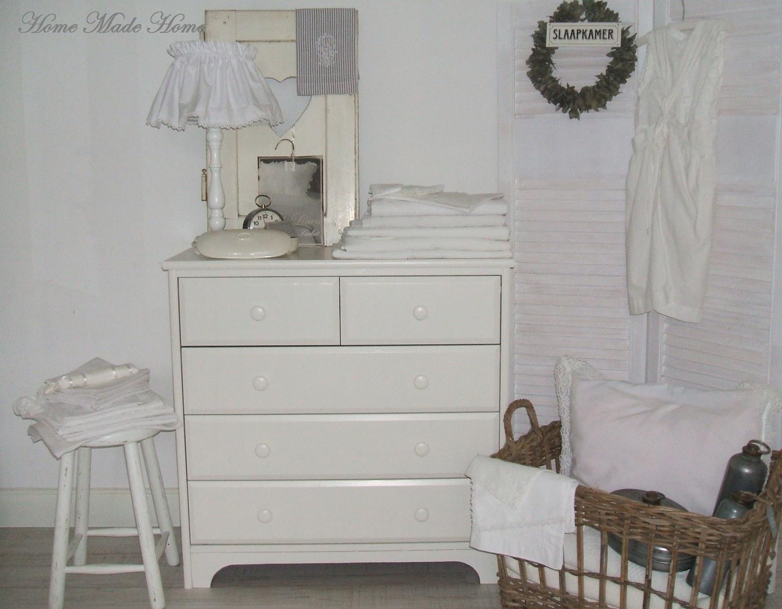 Witte Ladenkast Slaapkamer : Ook de ladenkast was bruin en heeft een ...