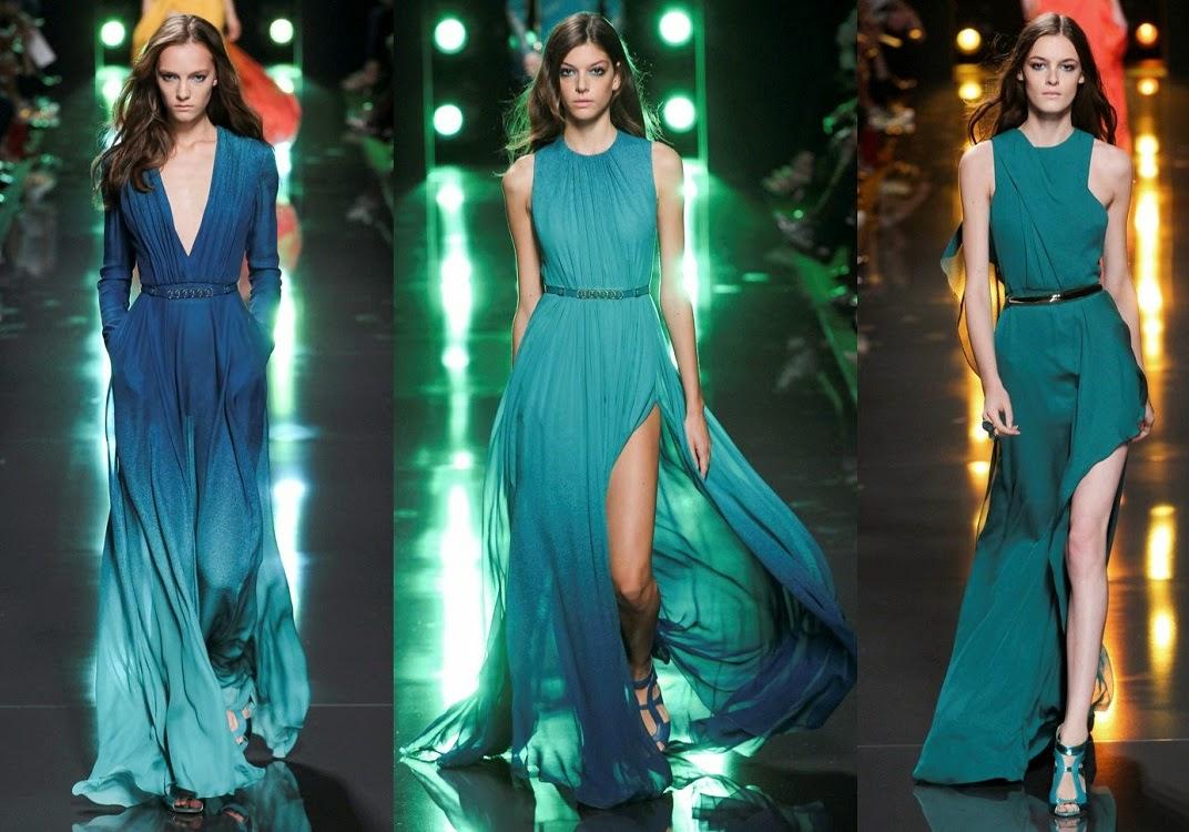 Ember Willowtree: Elie Saab primavera 2015, diseños con temática marina