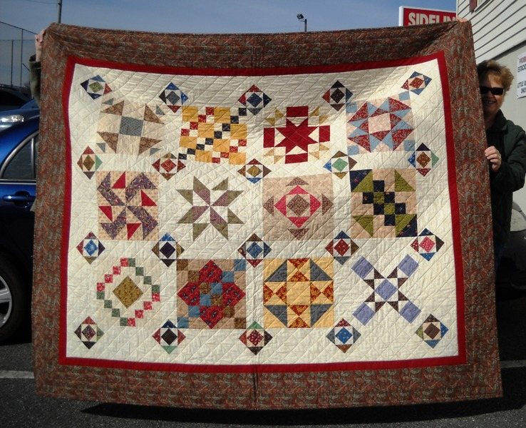 Little Quilts Blog: November Saturday Sampler Show And