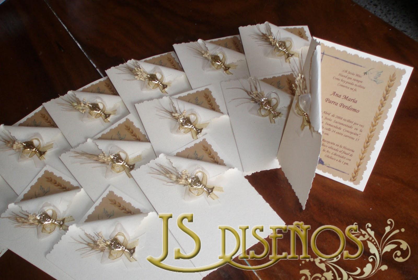 invitaciones de primera comunion originales
