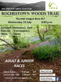 MMRA 5k trail race... Wed 19th July 2017