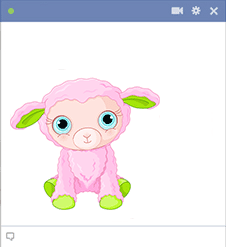 Little Lamb - Facebook Sticker