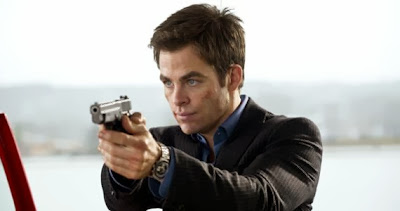 Chris Pine looking fierce well in