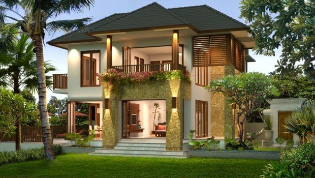 gambar rumah terbaru model minimalis desain modern model