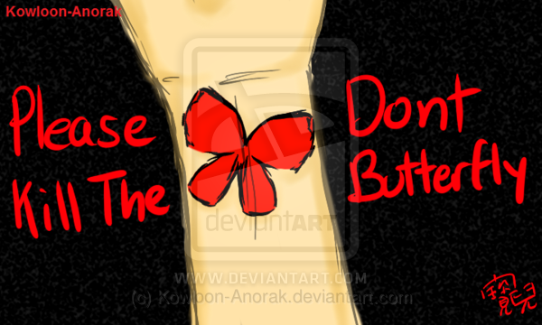 how to kill butterflies dst