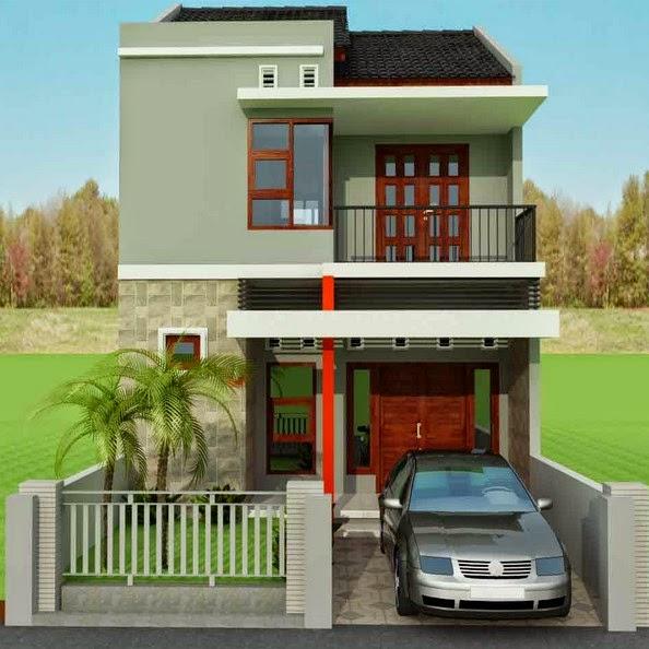 desain rumah minimalis gambar teras dan taman rumah