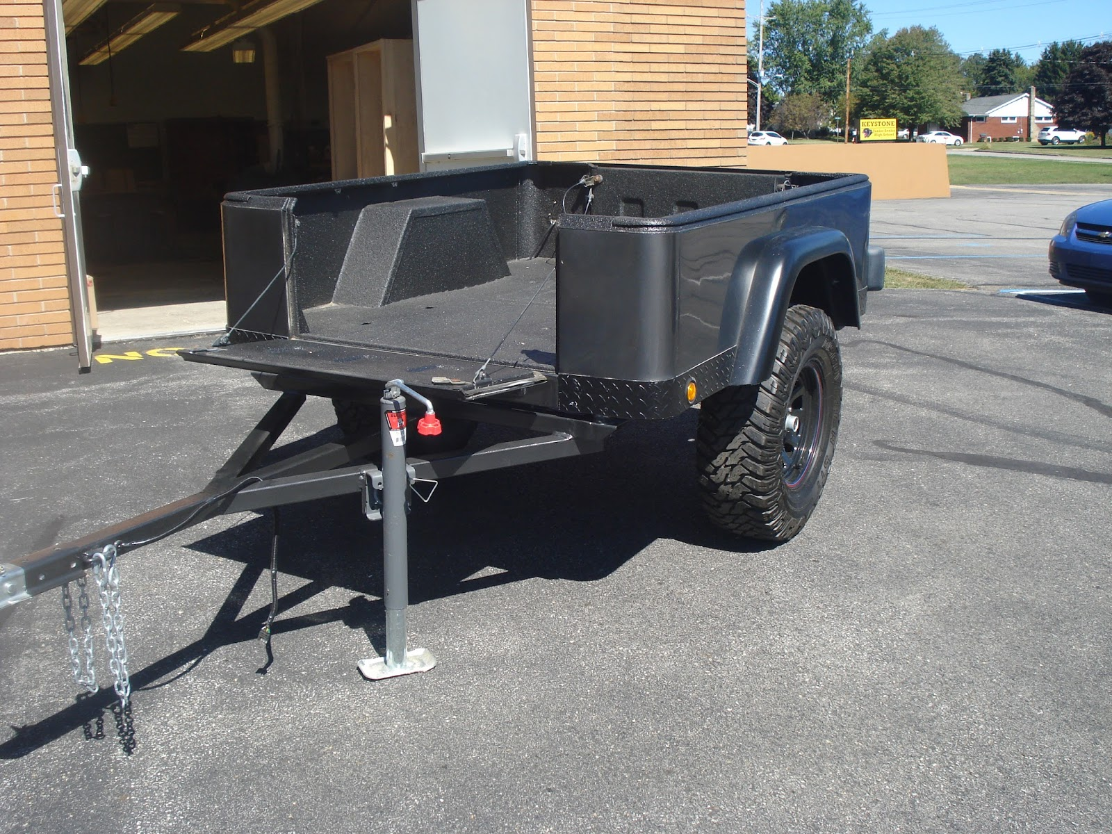 Keystone Trailer Project Finished Jeep Trailer