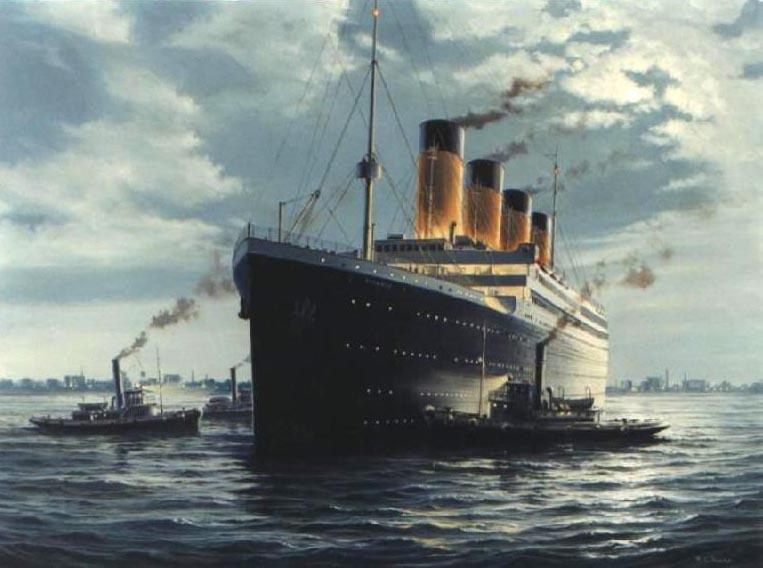 Titanic Hot Painting