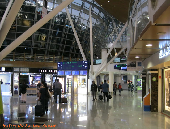 Inside Kuala Lumpur Airport