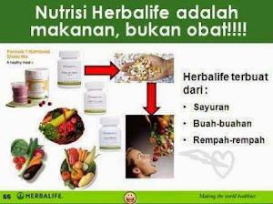 HERBALIFE ADALAH NUTRISI