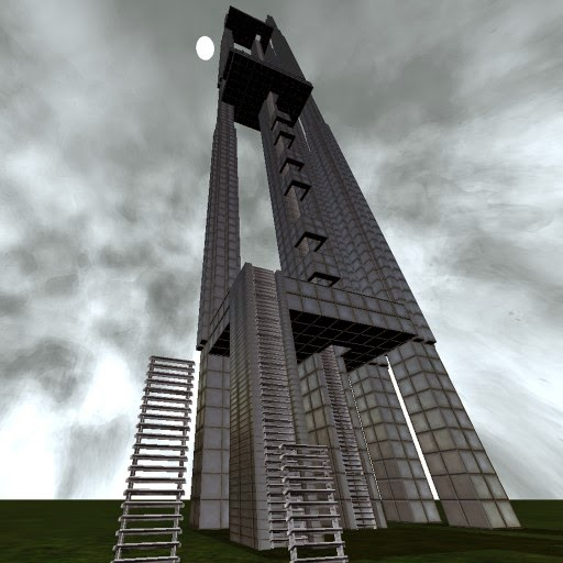 Blender Game Engine - Climbable Ladder Component by DennisH2010