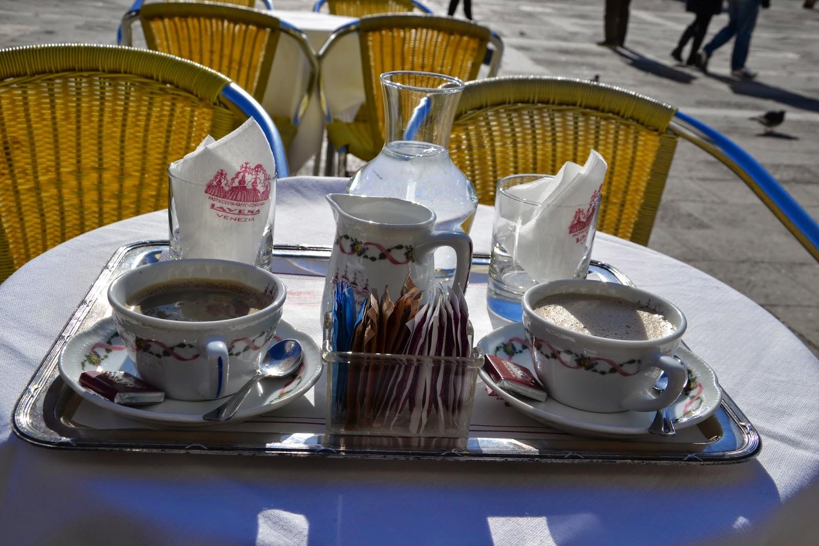 Prix Du Cafe Au Danieli A Venise