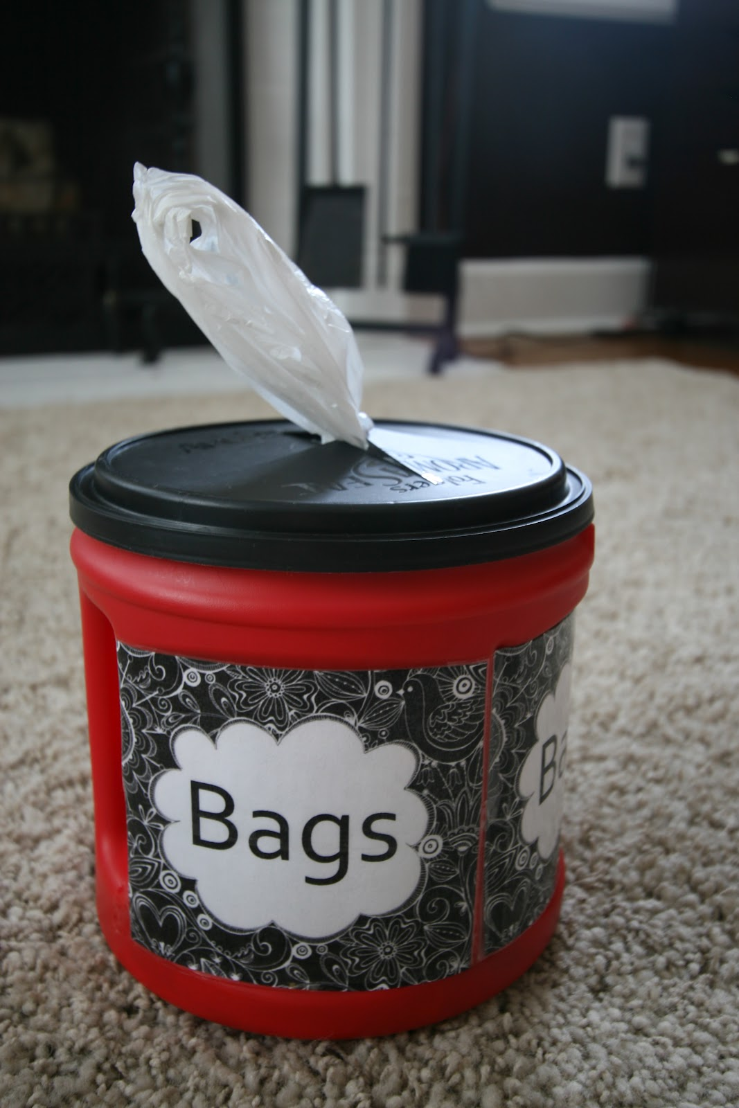 Pinspired makeover monday plastic bag container snack for Recycled plastic containers