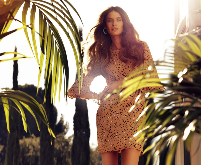 via fashioned by love | Bianca Balti in Blanco Spring/Summer 2011 Campaign  by Hunter & Gatti