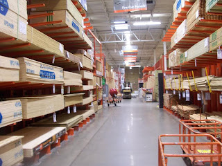Home Depot lumber prices