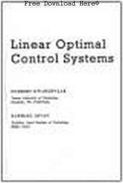 Linear Optimal Control Systems