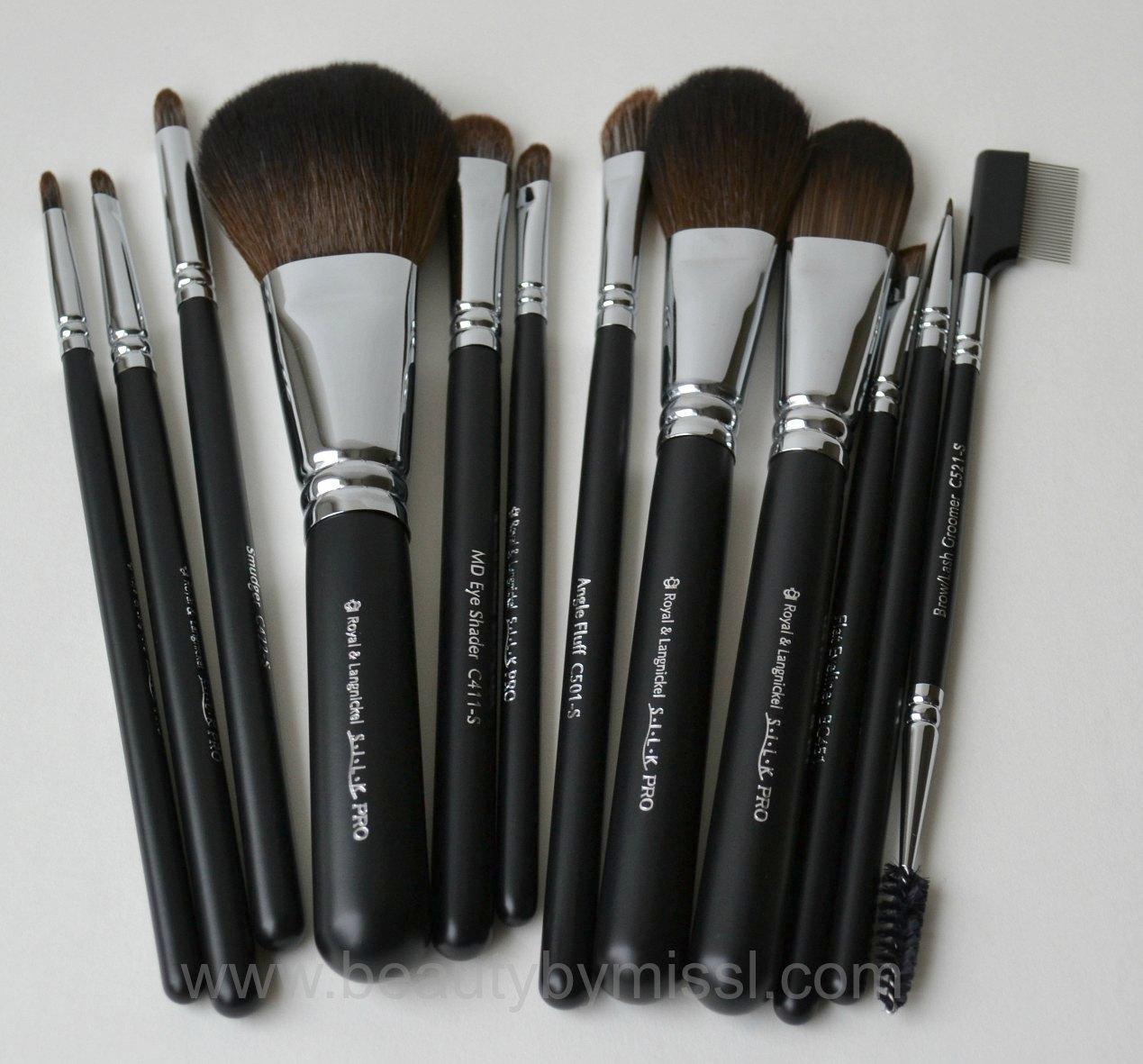 Royal & Langnickel SILK Synthetic Hair 12 pc Brush Set