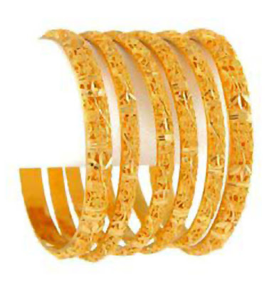 Stylish Gold Bangles Designs 2012