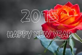 HAPPY NEW YEAR 2015 - BEST ROSE WALLPAPER