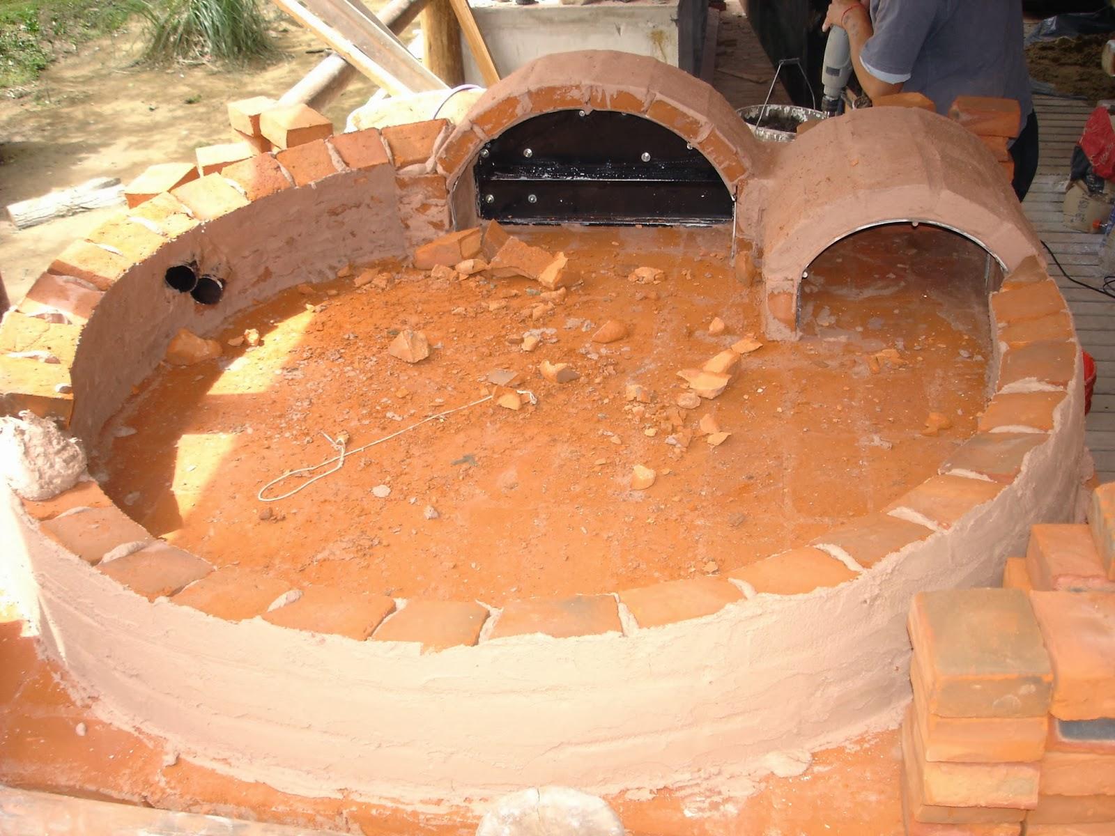 Horno de barro construccion paso a paso