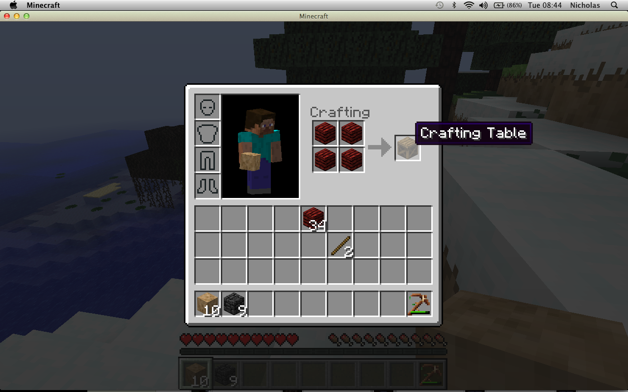Adventures in cubeland a minecraft diary of failage - How do you use a crafting table in minecraft ...