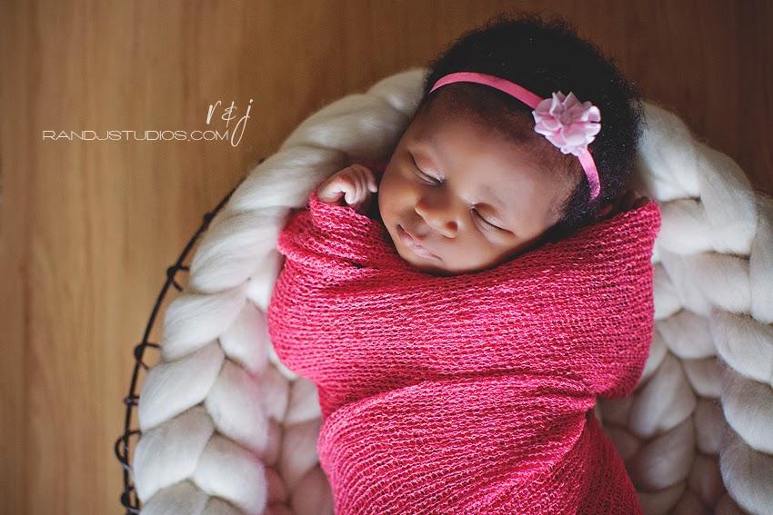 Houston Nigerian Newborn Photography