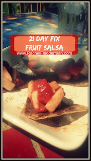21 Day Fix Fruit Salsa