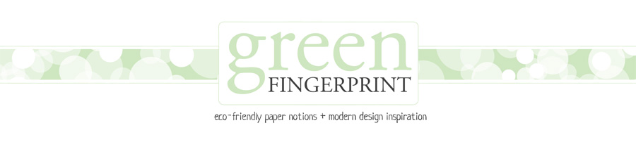 greenFINGERPRINT | eco-friendly paper notions