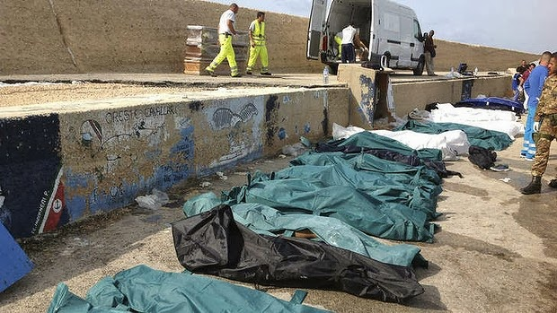 Ship with migrants turned off Lampedusa, at least 82 victims