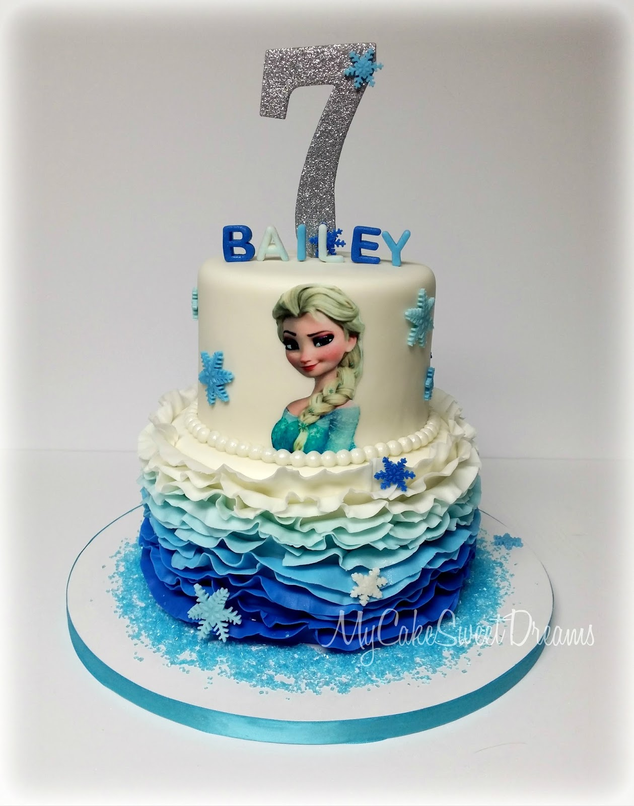 Frozen Themed Cake Design : My Cake Sweet Dreams: Frozen Themed Cake