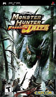 Monster Hunter Freedom Unite PSP GAME