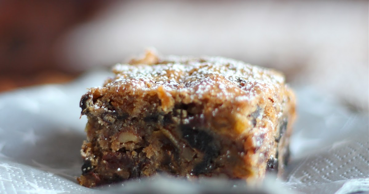 Arctic Garden Studio: Fruitcake Bars (Luscious Cherry ...