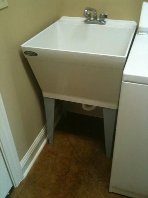 Used Utility Sink : HollyStyle: DIY Utility Sink Skirt