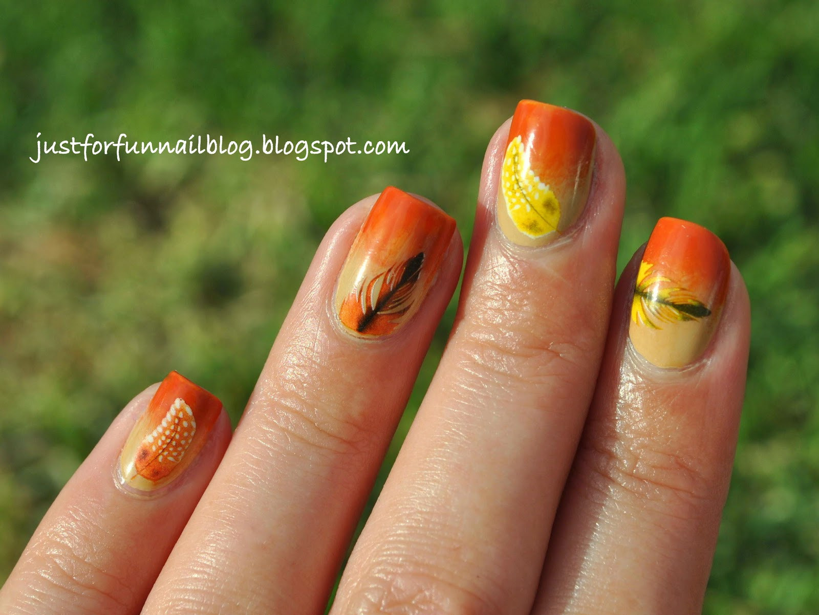 Bornprettystore Feathers Water Decals