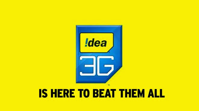 IDEA 900 MB Free 3G Internet TRICK - November