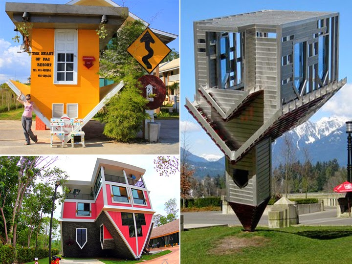 Unique Upside Down Houses Seen On www.coolpicturegallery.us
