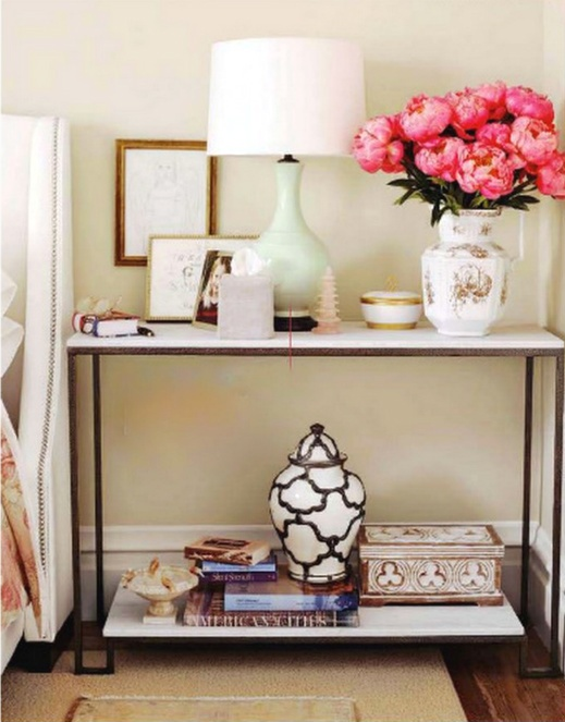 how to accessorize a nightstand 2