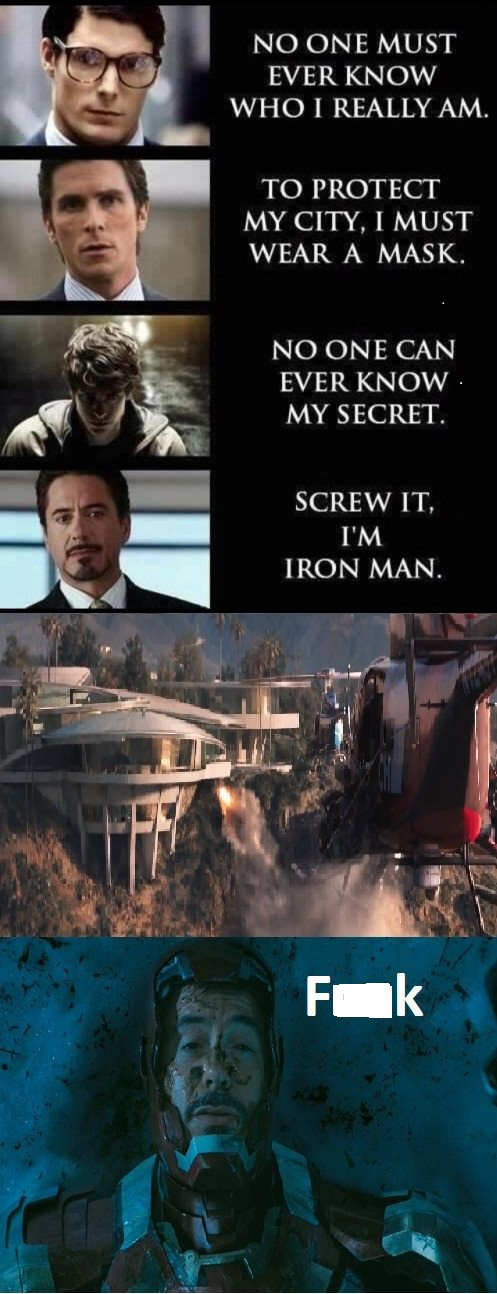 Now Iron Man Thinks He Should've Listened To Batman!