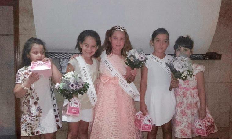 Rocío, reina infantil de las fiestas 2016