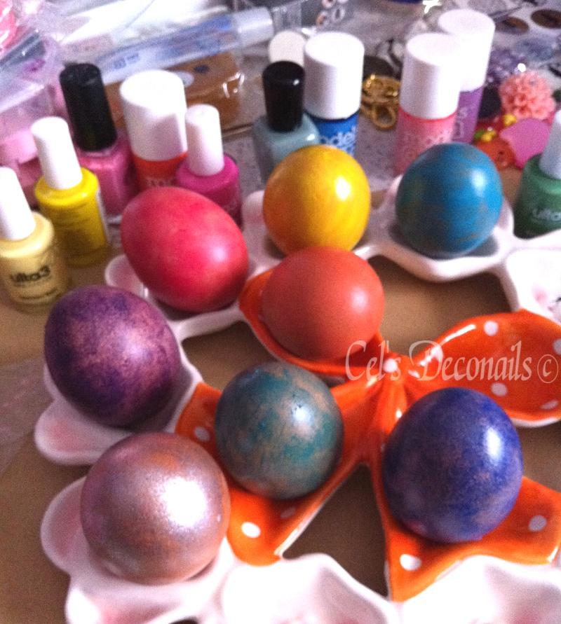 Nail Polish Easter Eggs Dizzy Miss Lizzi