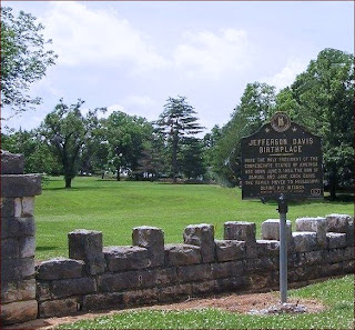 Historical Marker at Jefferson Davis Birthplace