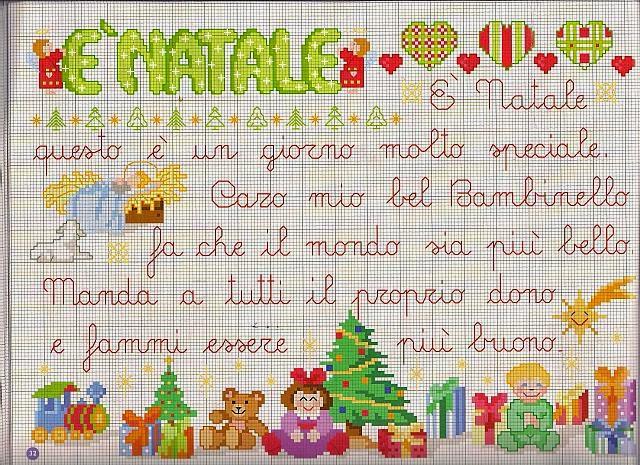 Hobby lavori femminili - ricamo - uncinetto - maglia  Schemi Natale ... cbfeb2b1d8db