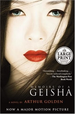 Book cover for Memoirs of a Geisha by Arthur Golden