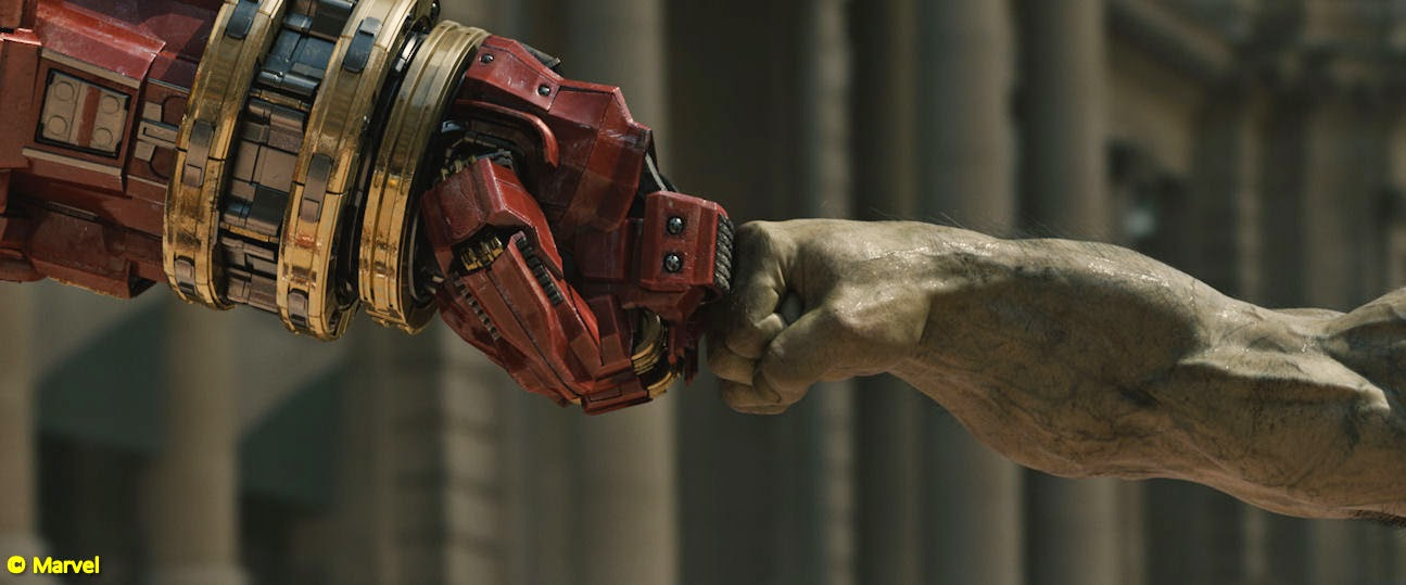 Avengers: Age of Ultron fist bump