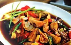 Cara Membuat hidangan kerang jamur putih