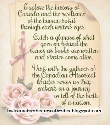 Our Canadian Historical Brides series blog