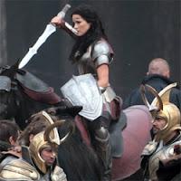 Jaimie Alexander es Lady Sif en Thor: The Dark World