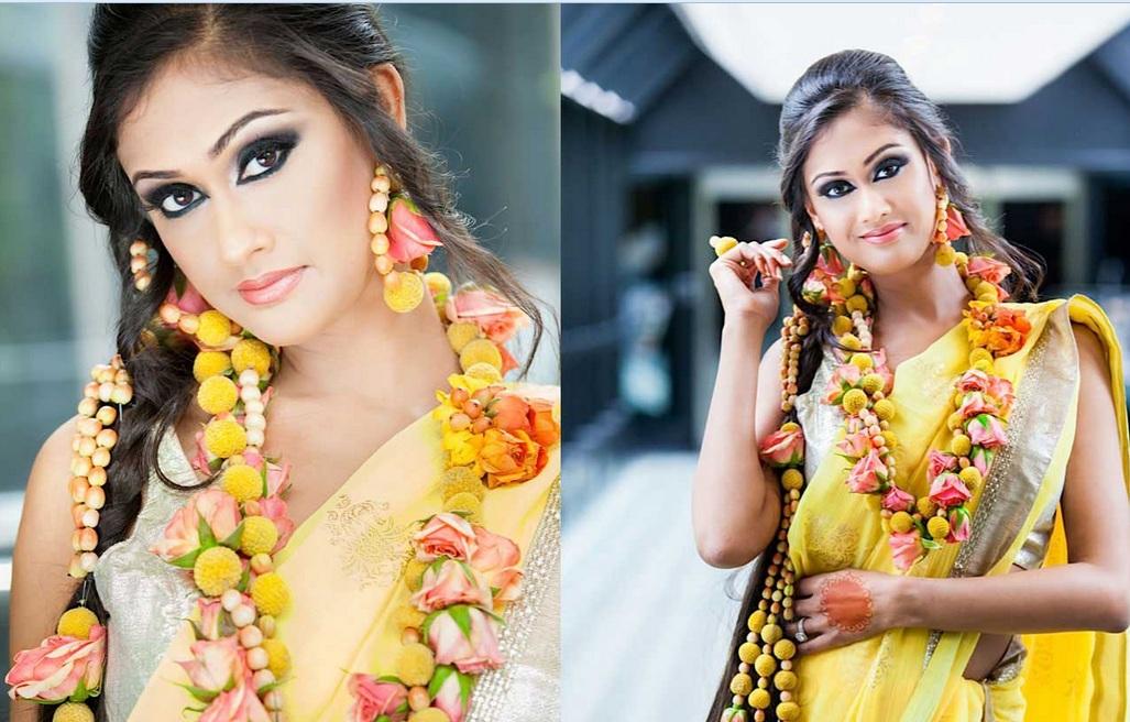 Mehndi Fresh Flowers : Calgary wedding blog: flower garlands & floral jewellery